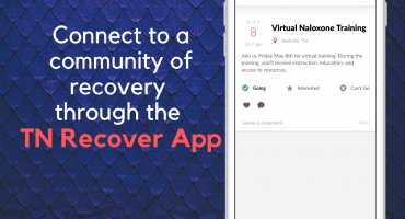 Connect to a community of recovery through the TN Recover App (1)