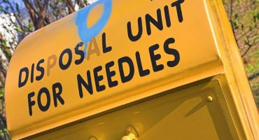 Needle-disposal-box